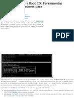 Manual de Hiren's Boot CD_ Ferramentas reparar computadores para « Portugal Digital