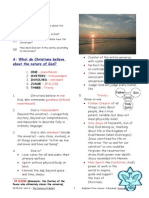Revision Guide Belief About Deity