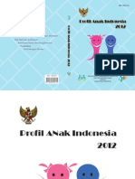 Profil Anak 2012