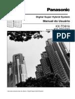 kx-td1232 - manual do Usuário