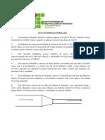 LISTA DE REVISÃO I HIDRÁULICA E PNEUMÁTICA OLEDINAMICA