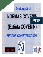 3 NORMAS COVENIN 2012