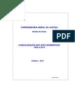 Consolidação dos Atos Normativos - Estado de Goiás