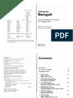 01.Colloquial Bengali