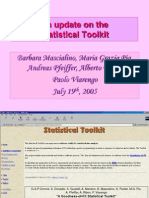 Statistical Toolkit