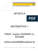 Apostila Matematica I - Carlos Leandro-1
