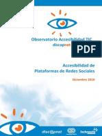 Observatorio Accesibilidad Redes Sociales Version Detallada