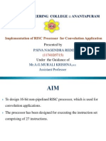 RISC Processor Design Description