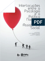 INTERLOCUÇÕES ENTRE A PSICOLOGIA E A ASSISTÊNCIA SOCIAL