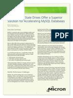 Ssd Alternative for Accelerating Mysql Tech Brief