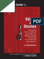Random House LLC STICKS AND STONES Teacher's Guide