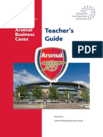 Arsenal Teachers Guide Paul Kitchin