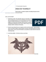 2. Freudian Self-Analysis