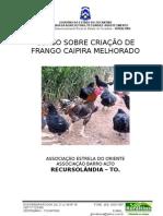 Curso sobre criação de frangos