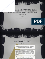 Comparative Mortality Risks of Antipsychotic Medications in Community-dwelling