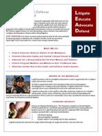 Legal Momentum Fact Sheet July 2014