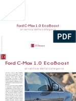 Ford C-Max 1.0 EcoBoost. Al vertice della categoria.