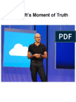 Microsoft's Moment of Truth