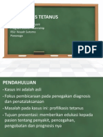 Profilaksis Tetanus