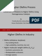 Shell Higher Olefins Process Class Presentation