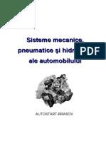 Sisteme Mecanice Pneumatice Si Hidraulice Ale Automobilelor