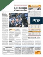 Lunes negro en los mercados mundiales por temor a crisis  / Perú 21 / 04-02-2014_página 10