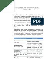 Locuciones Latinas y Extranjeras (a Remotis - Hic)