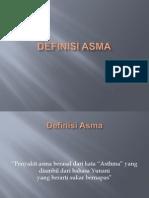 Definisi Asma