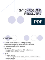 Synchros and Resolvers