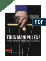 Tous manipulés - Marc Toussaint