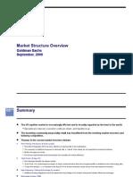 Goldman Sachs Market Structure