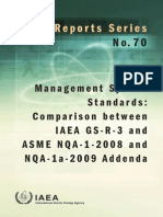 70Management System Standards Comparison between IAEA GSR3 and ASME NQA12008 and NQA1a2009 Addenda.pdf