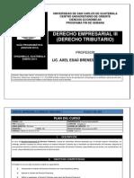 Derecho Empresarial III Axel Esa Brenes-Admon