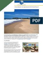 Grande Oportunidade Para Adquirir Um Apartamento De Frente Para O Mar Em Itacimirim