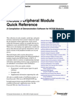 HCS08Peripheral Module Quick Reference