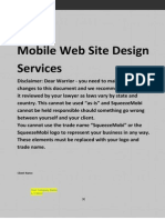 SqueezeMobi Mobile Marketing Services Agreement v5