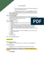 Literary Analysis Tips & Rubric