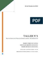 Informe Taller No 4