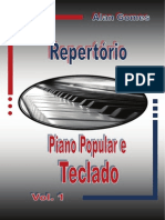 Repertório Piano Popular e Teclado