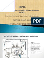 Sistemas de Injeccion Diesel Exposicion Motores