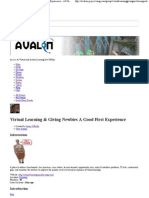 Virtual Learning & Giving Newbies A First Good Experience