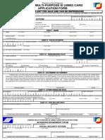 App Form UMID 2013