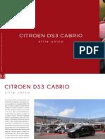 CITROEN DS3 CABRIO. Stile Unico.