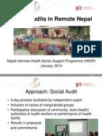 1 Nepal Social Audits