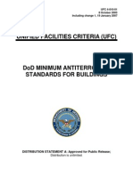 Dod Antiterrorism Standards for Buildings 10.031
