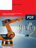 BECKHOFF New Automation Technology - PC-Based Control for Robotics in Handling. Production and Assembly