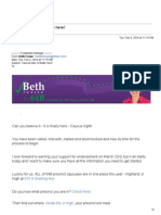 Fraser Caucus Email