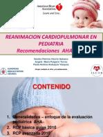 Actualización de la Guìa de RCP  en niños 2010