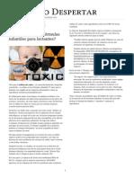 ¿Por qué se utilizan plaguicidas como ingrediente en las fórmulas infantiles para lactantes_