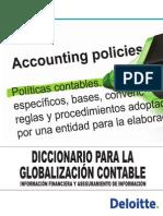 Diccionario para la globalización Contable Deloitte - Portafolio